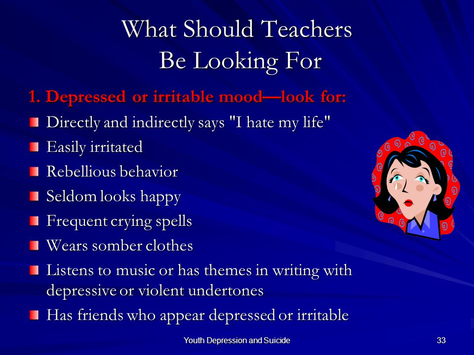 What Should Teachers Be Looking For