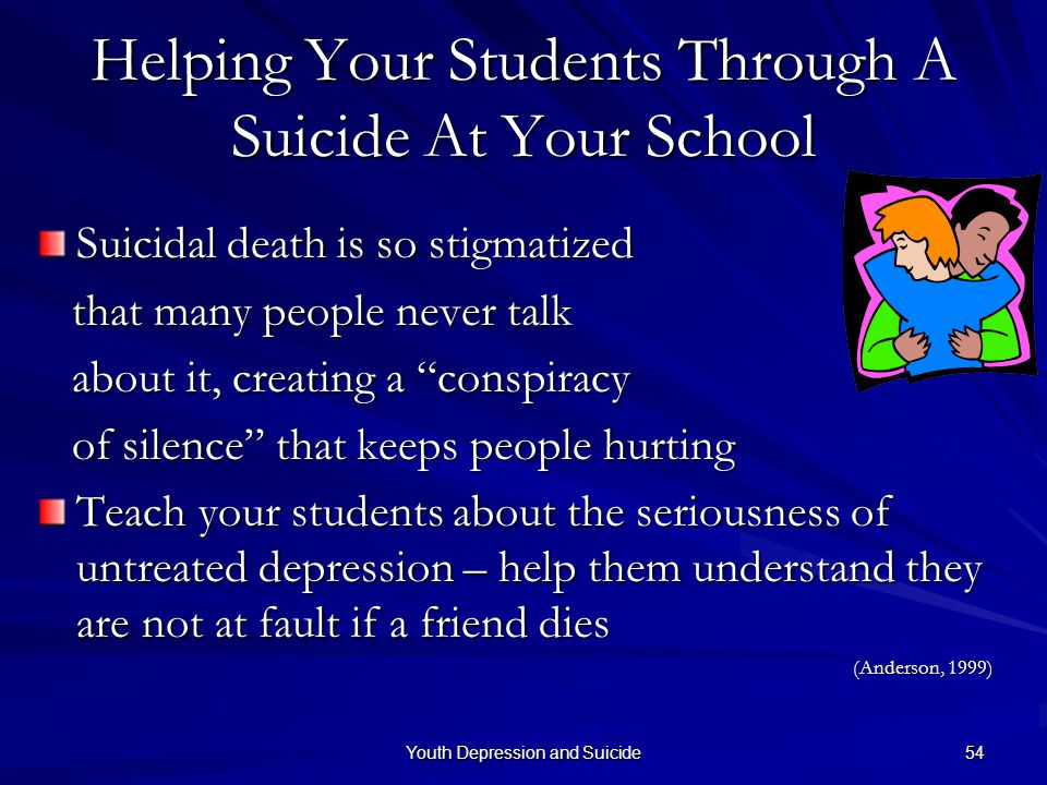 Helping Your Students Through A Suicide At Your School