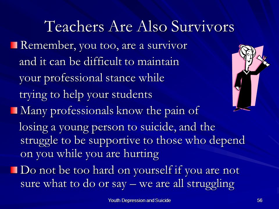 Teachers Are Also Survivors
