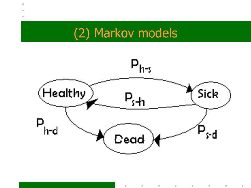 (2) Markov models