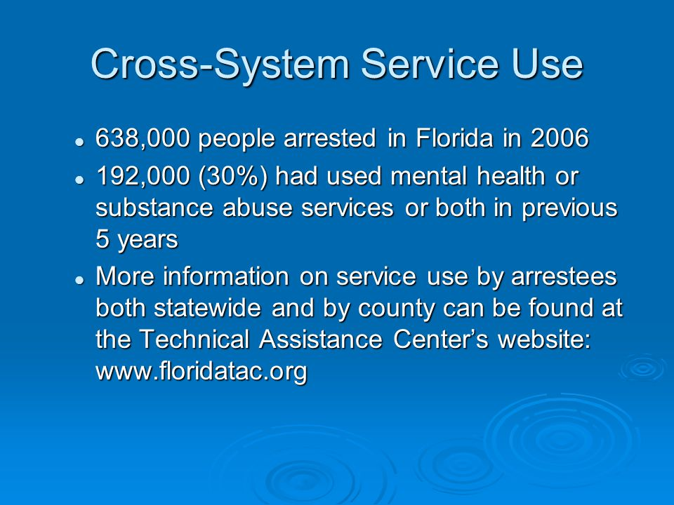 Cross-System Service Use