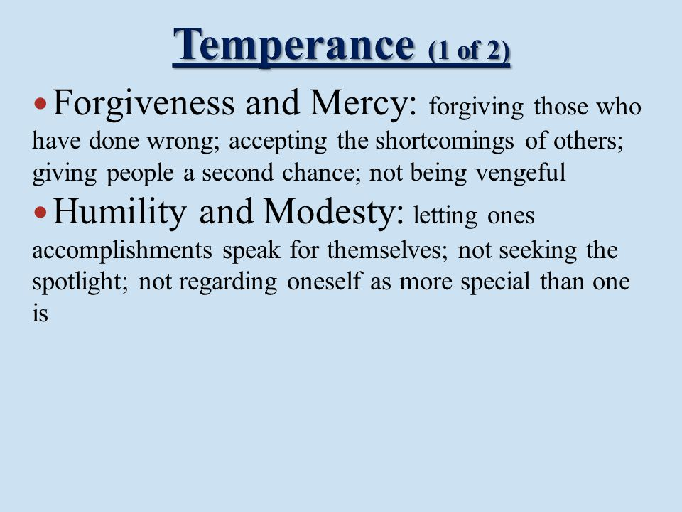 Temperance (1 of 2)