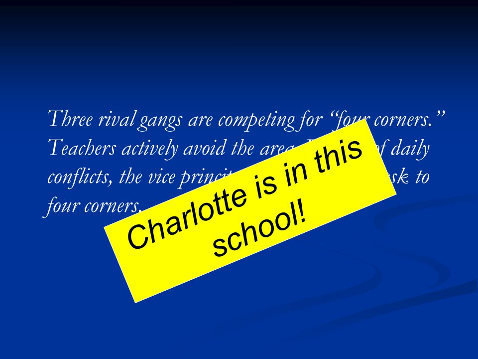 Charlotte is in this school!