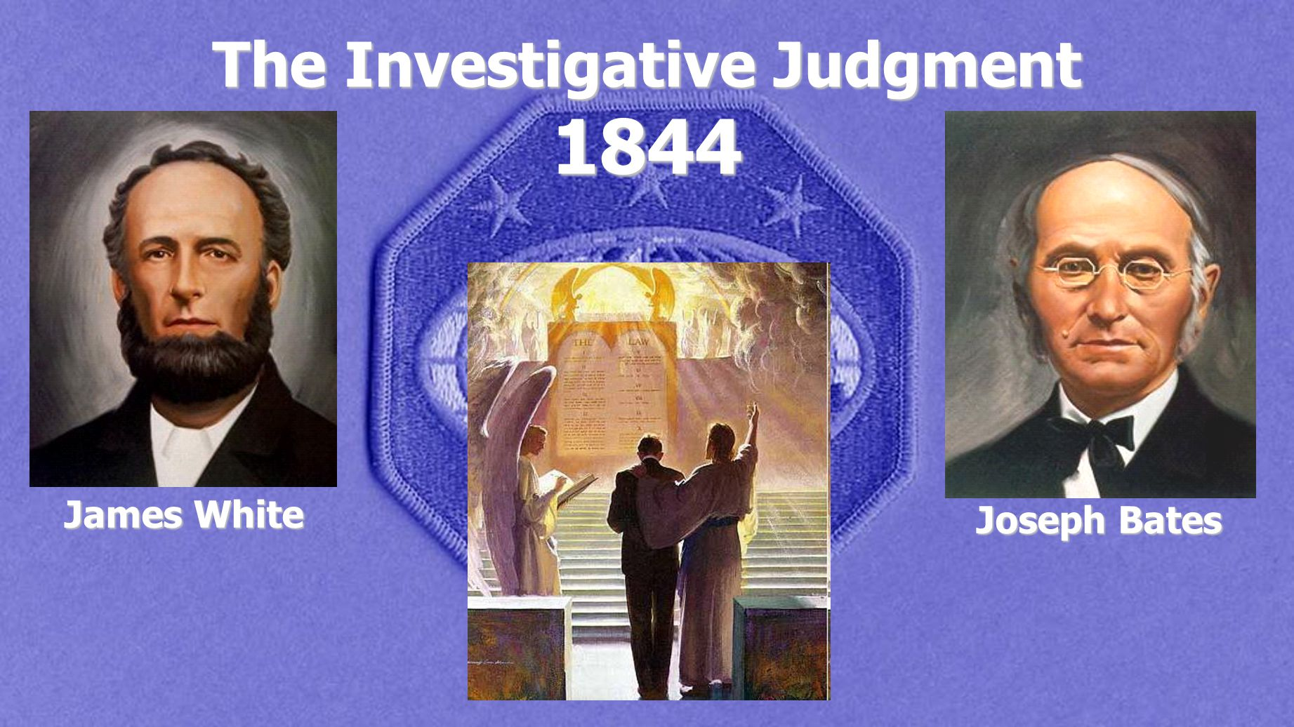 The Investigative Judgment 1844