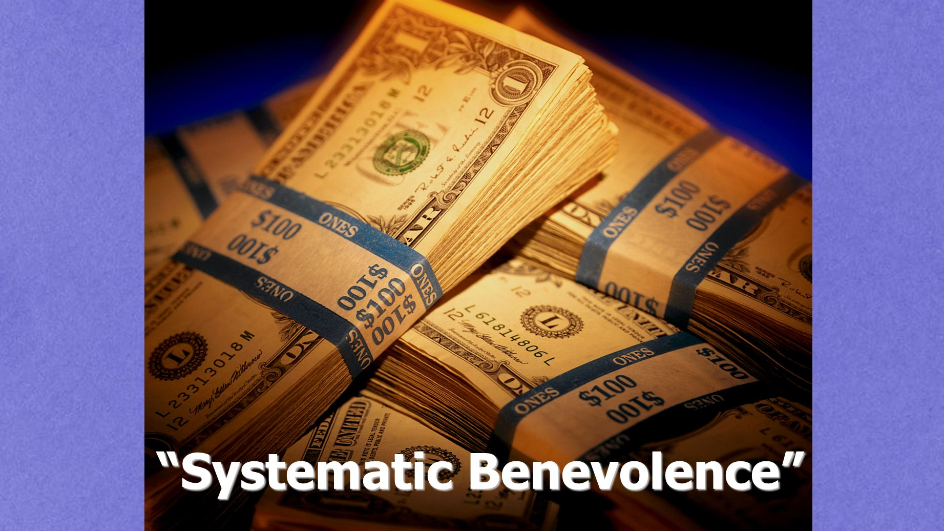 Systematic Benevolence