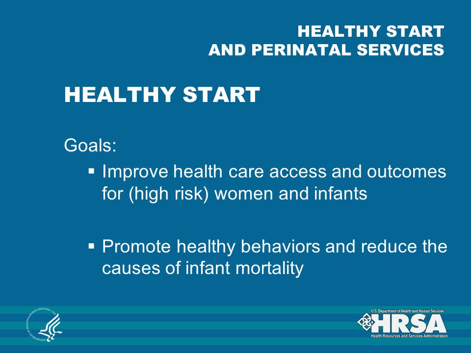 HEALTHY START AND PERINATAL SERVICES
