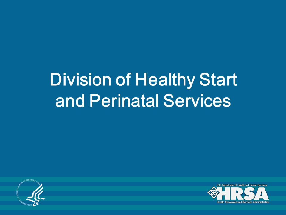 Division of Healthy Start and Perinatal Services