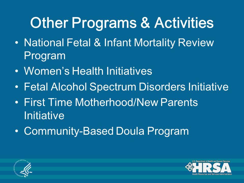 Other Programs & Activities