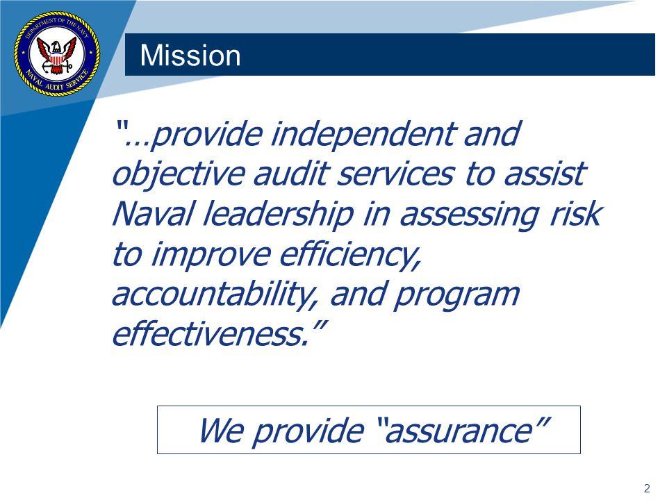 We provide assurance