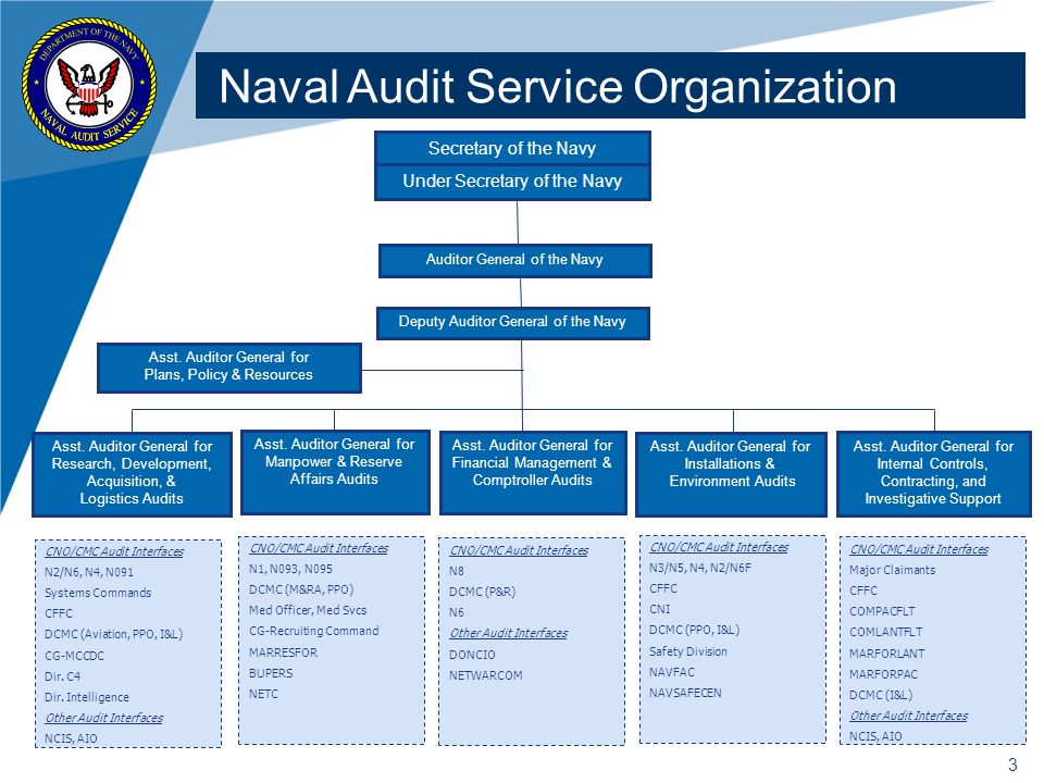 Naval Audit Service Organization