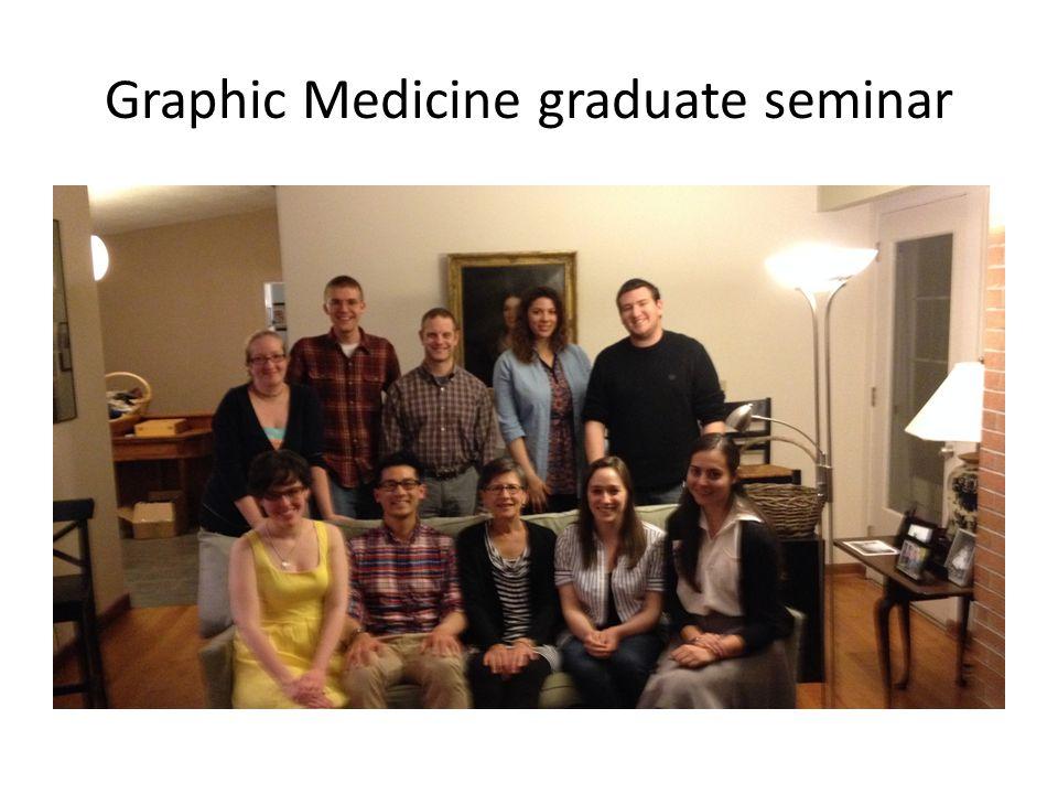Graphic Medicine graduate seminar