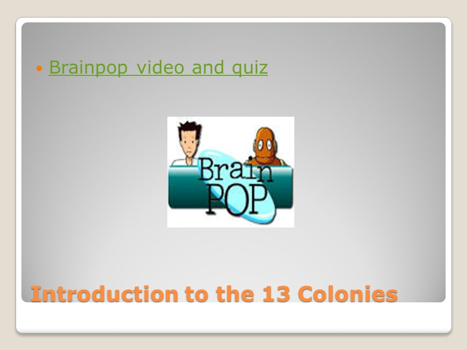 Introduction to the 13 Colonies