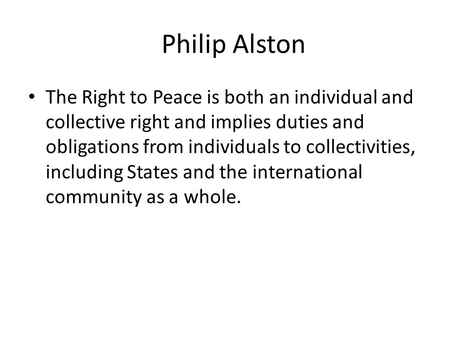 Philip Alston