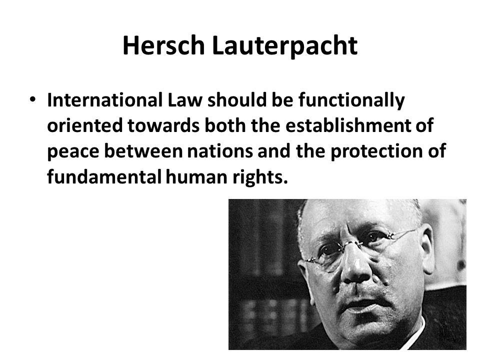 Hersch Lauterpacht