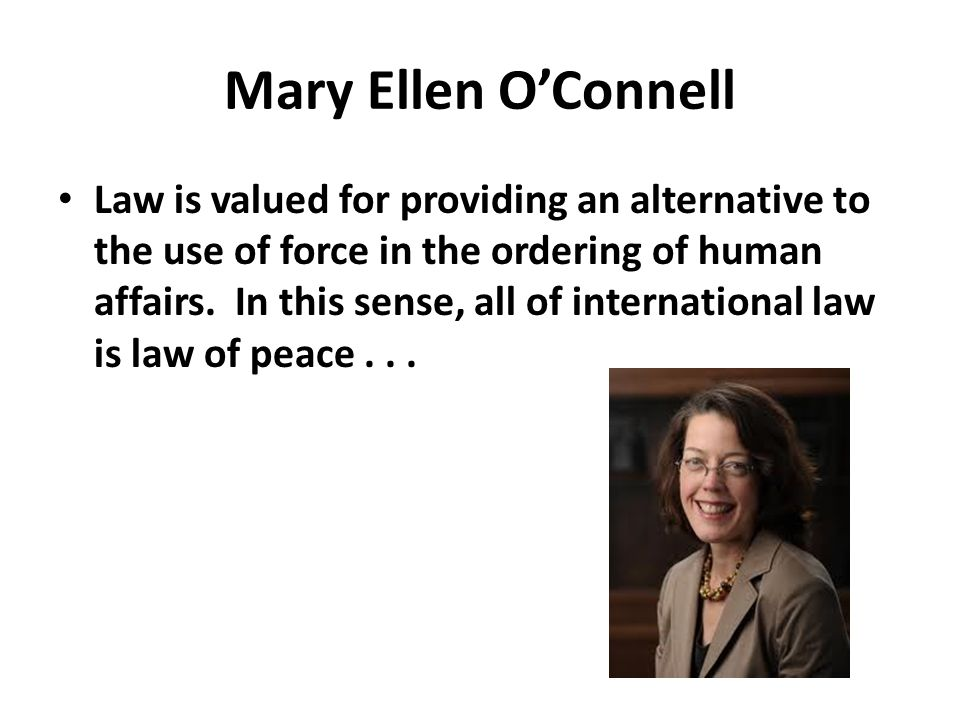 Mary Ellen O'Connell