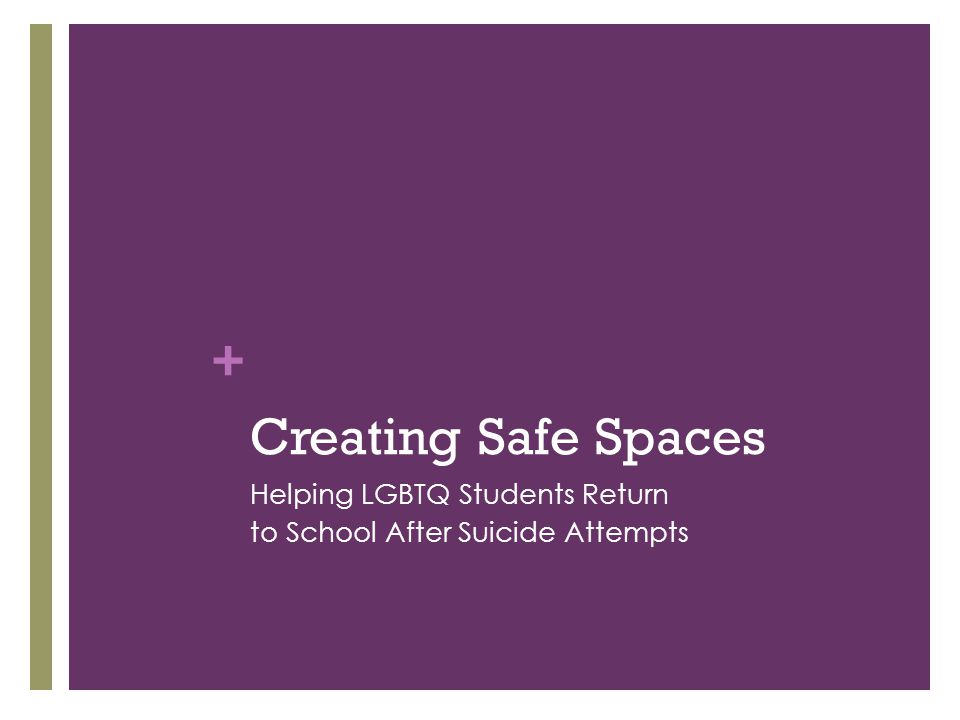 Creating Safe Spaces Helping LGBTQ Students Return
