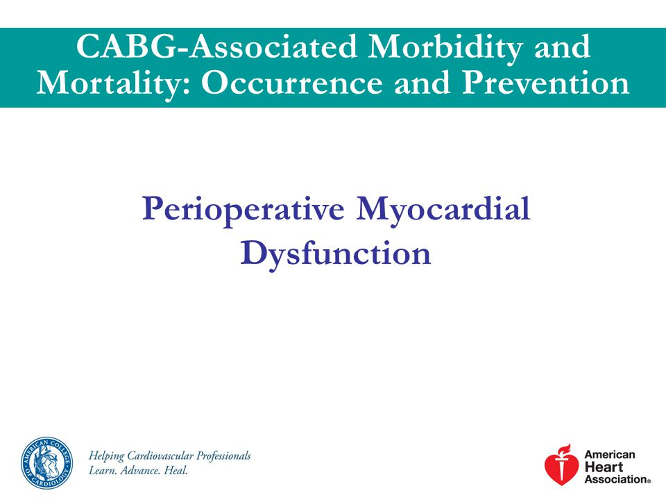 CABG-Associated Morbidity and Mortality: Occurrence and Prevention