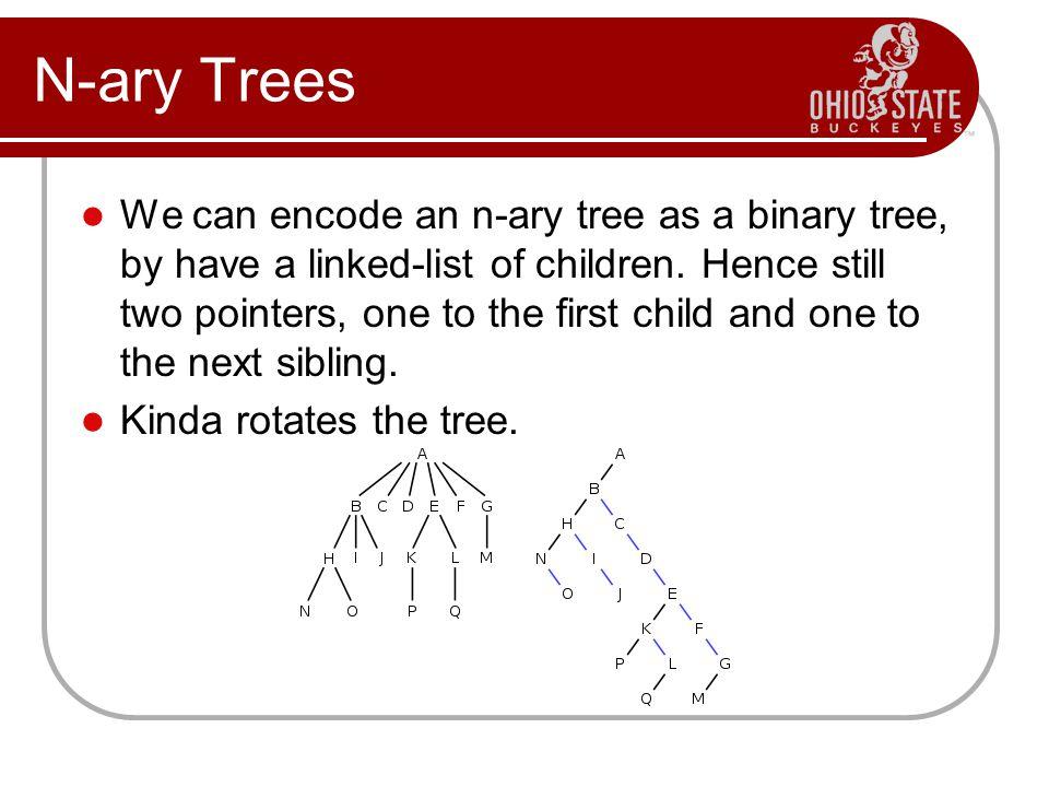 N-ary Trees