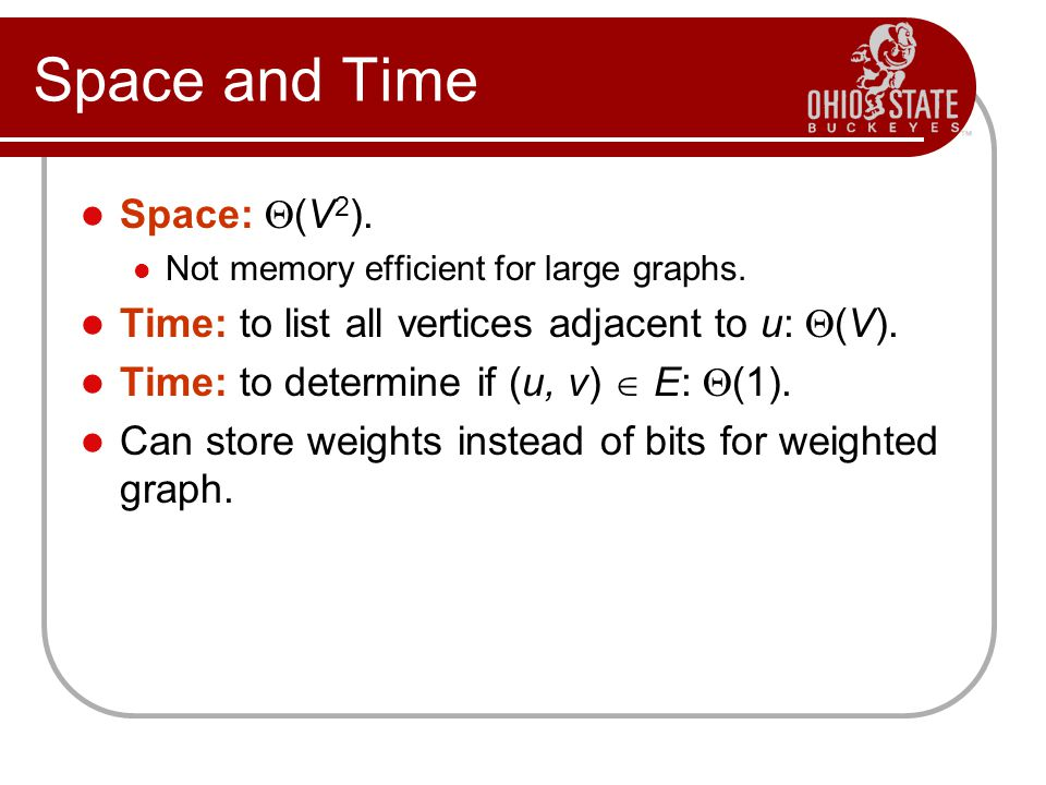 Space and Time Space: (V2).