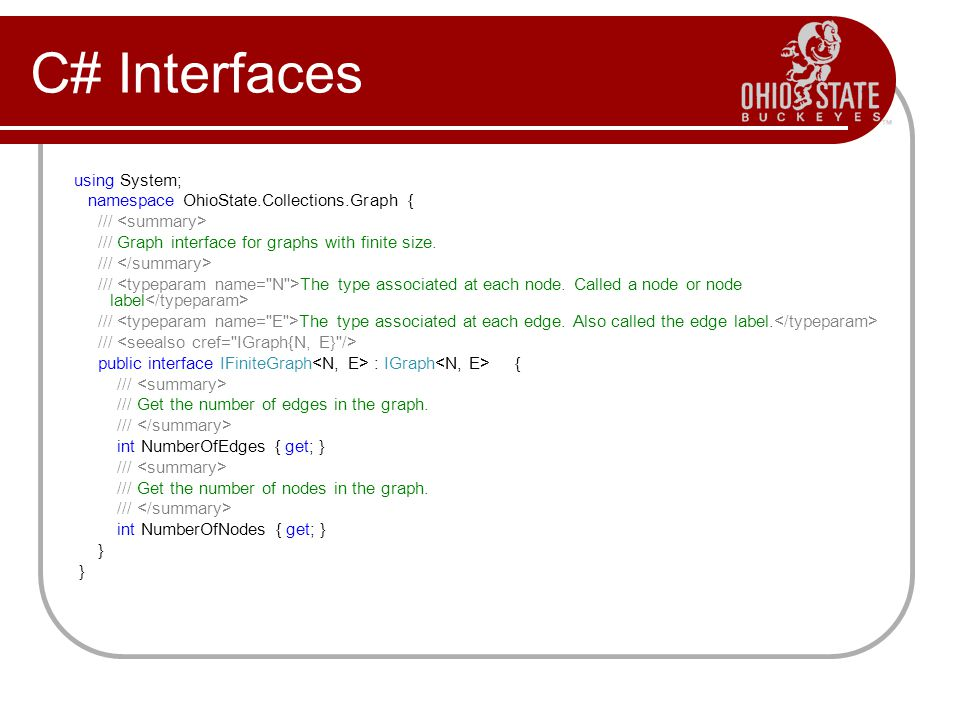 C# Interfaces