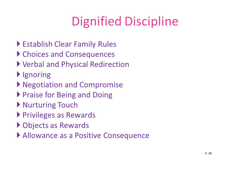 Dignified Discipline Establish Clear Family Rules