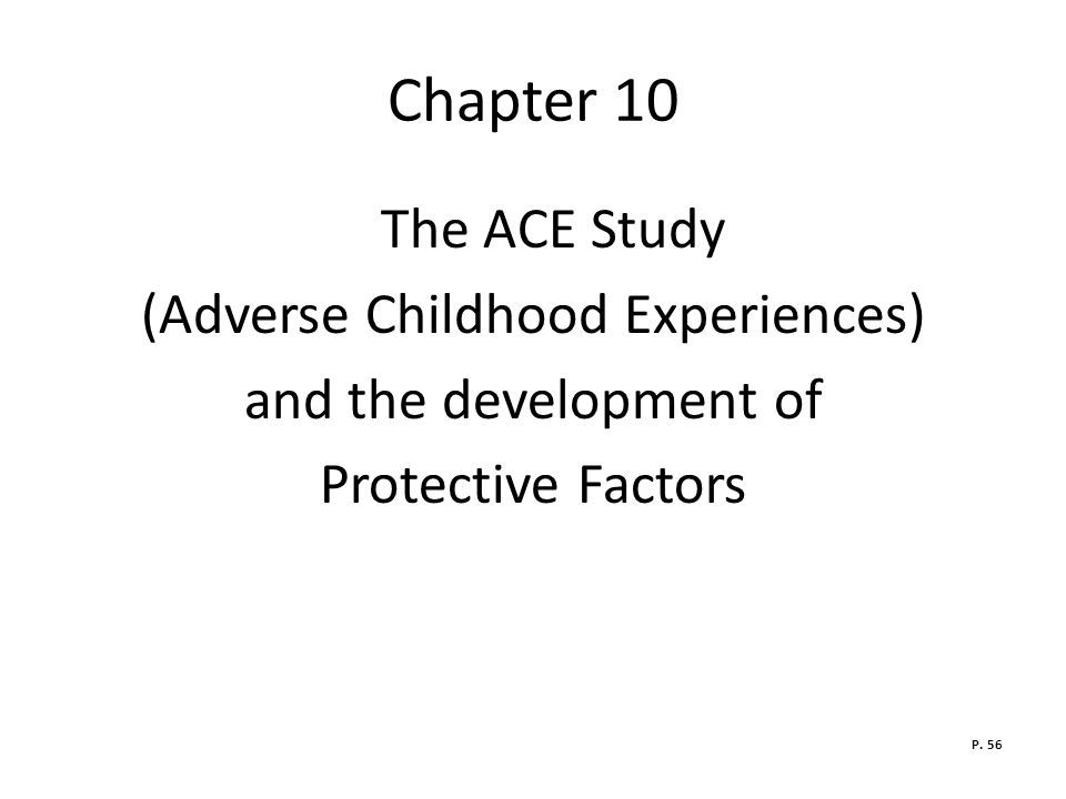 (Adverse Childhood Experiences)