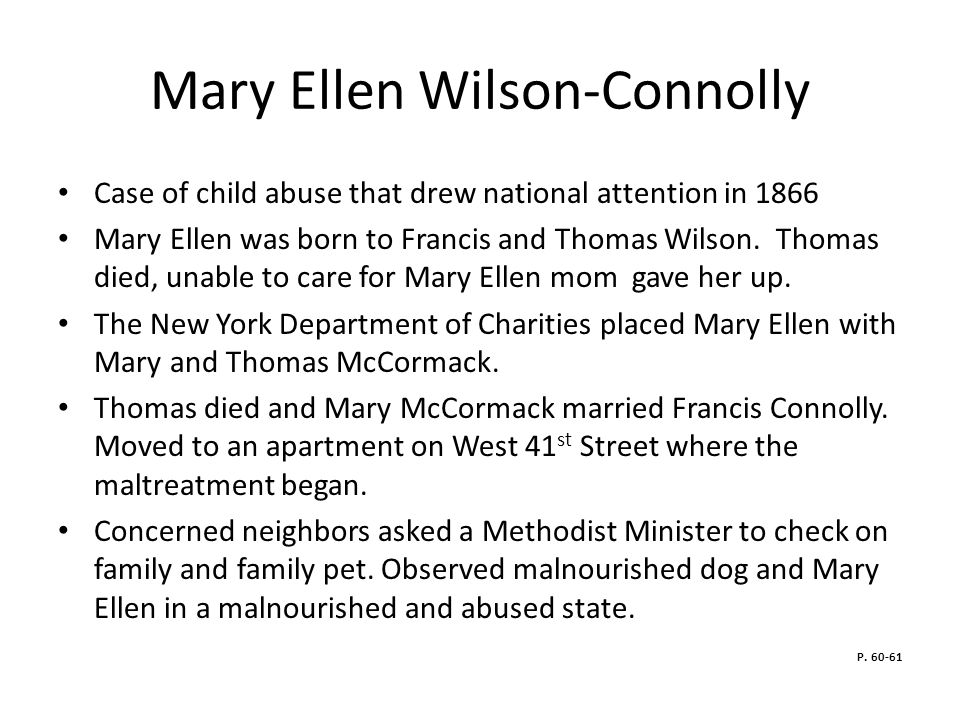 Mary Ellen Wilson-Connolly