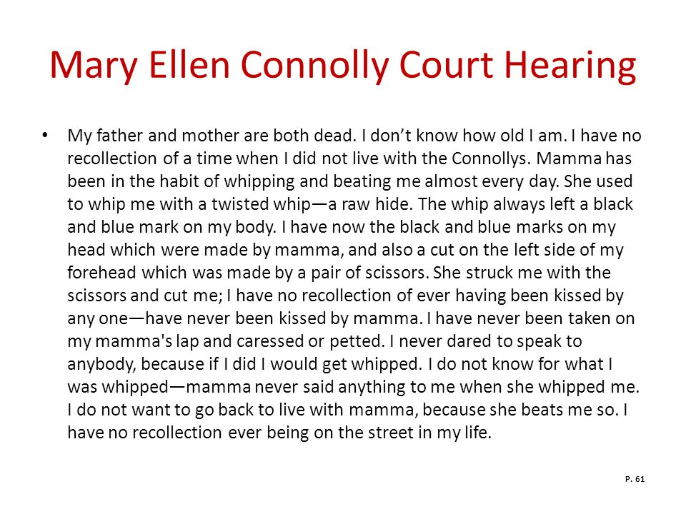 Mary Ellen Connolly Court Hearing