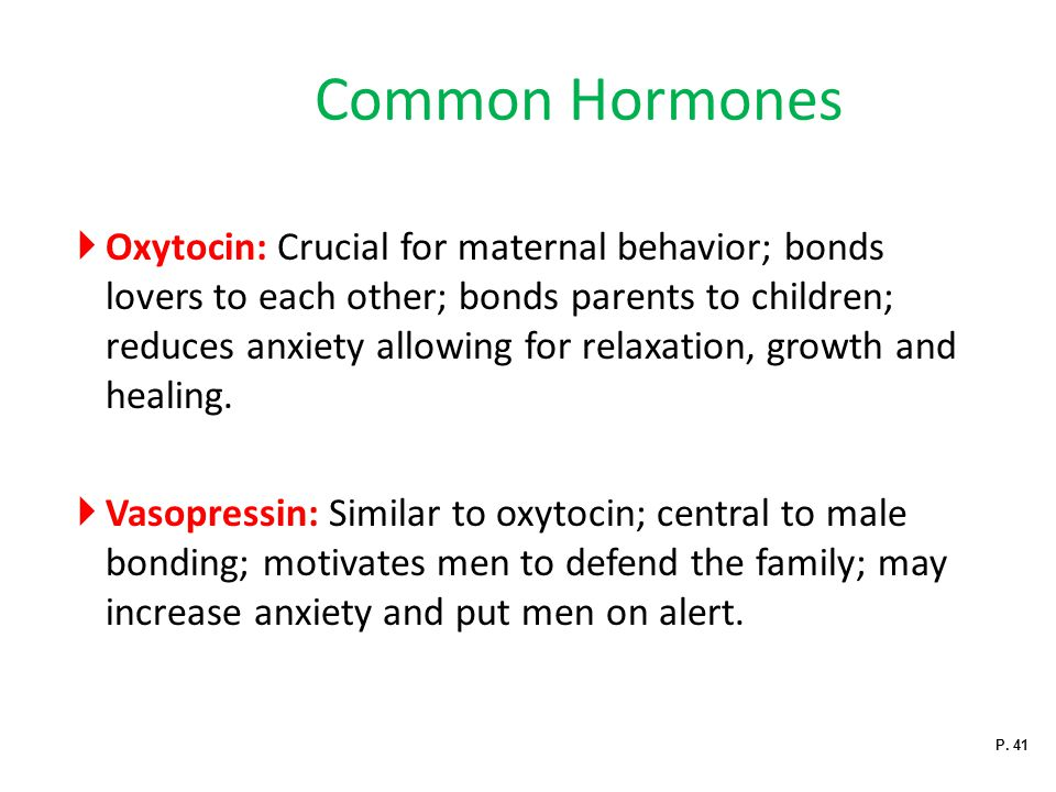 Common Hormones
