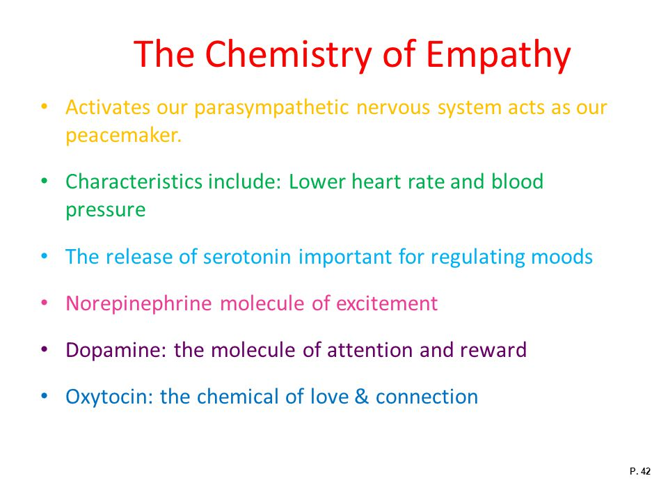 The Chemistry of Empathy