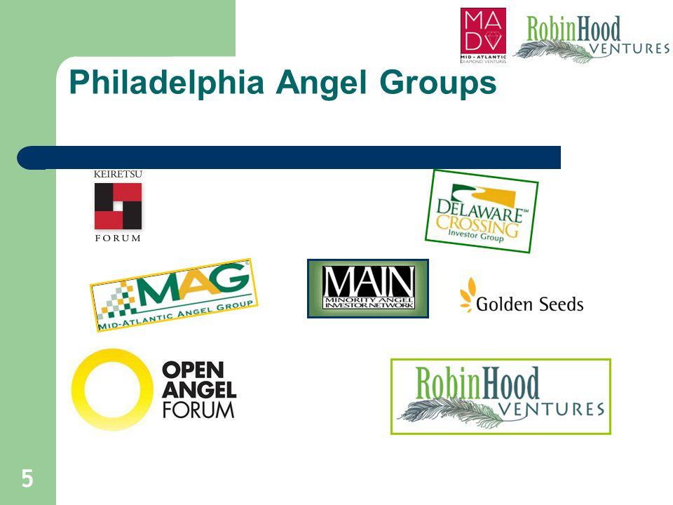 Philadelphia Angel Groups