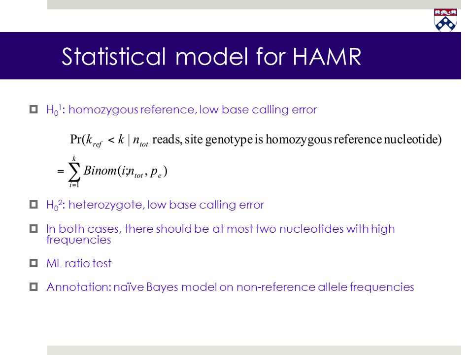 Statistical model for HAMR