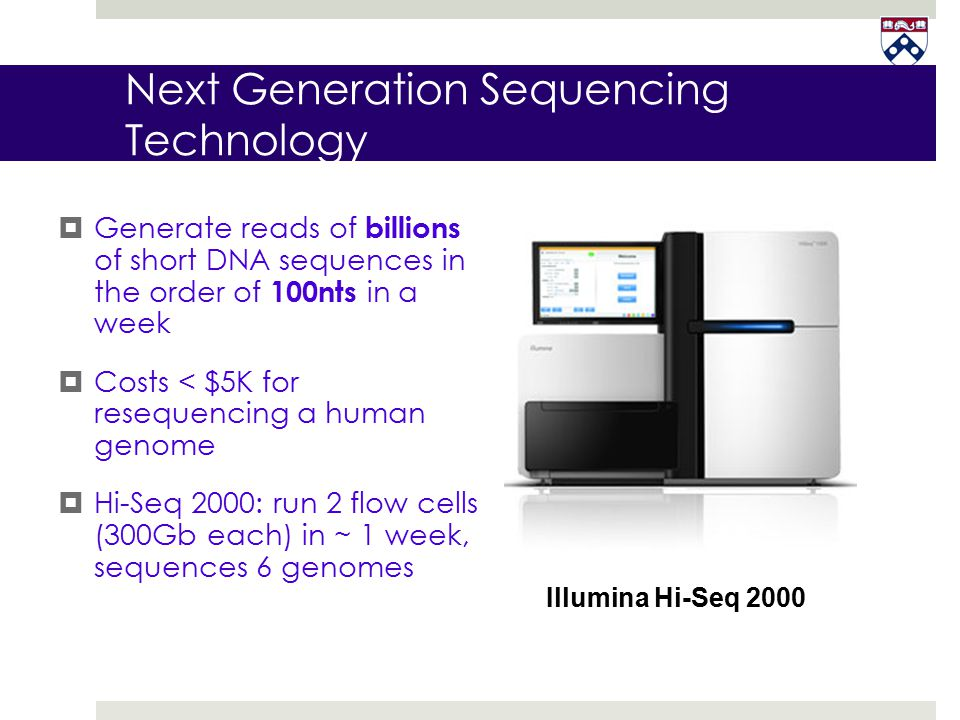 Next Generation Sequencing Technology