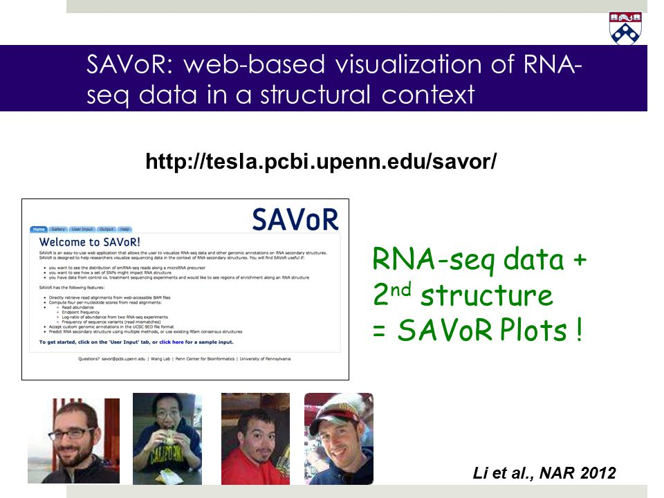 SAVoR: web-based visualization of RNA-seq data in a structural context