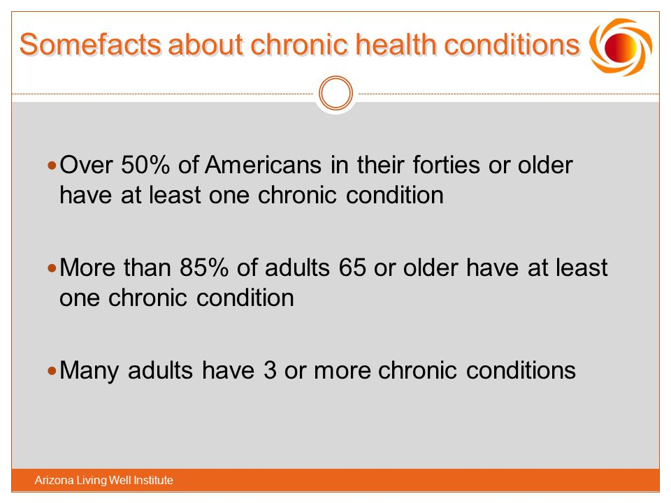 Somefacts about chronic health conditions