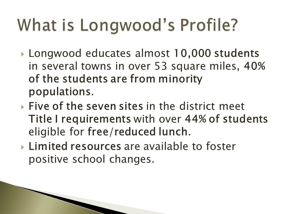 What is Longwood's Profile