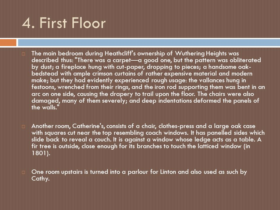 4. First Floor