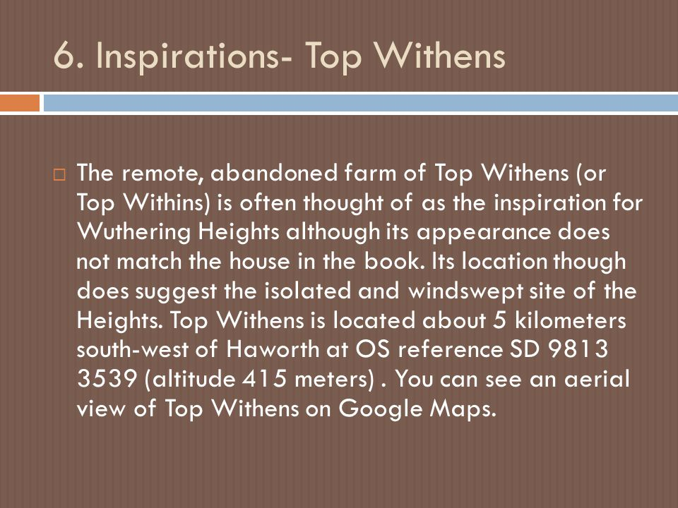 6. Inspirations- Top Withens