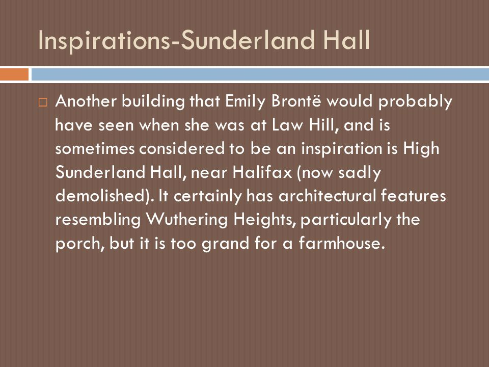 Inspirations-Sunderland Hall