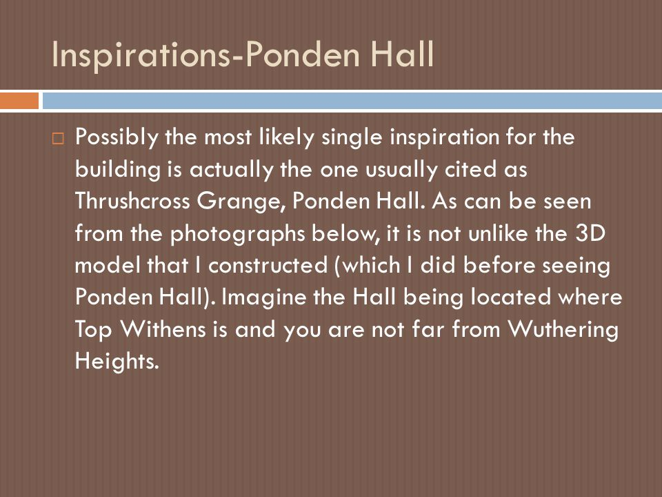 Inspirations-Ponden Hall