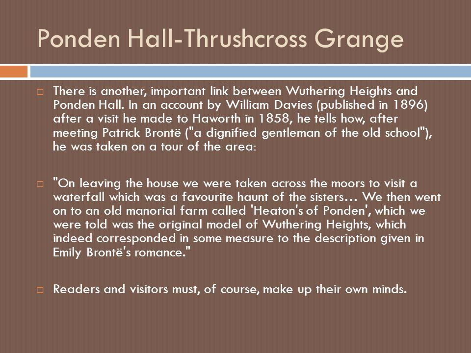 Ponden Hall-Thrushcross Grange
