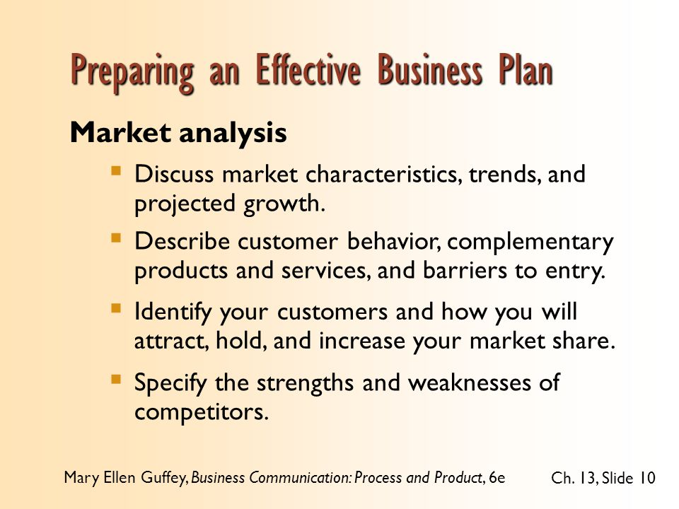what should a business plan cover
