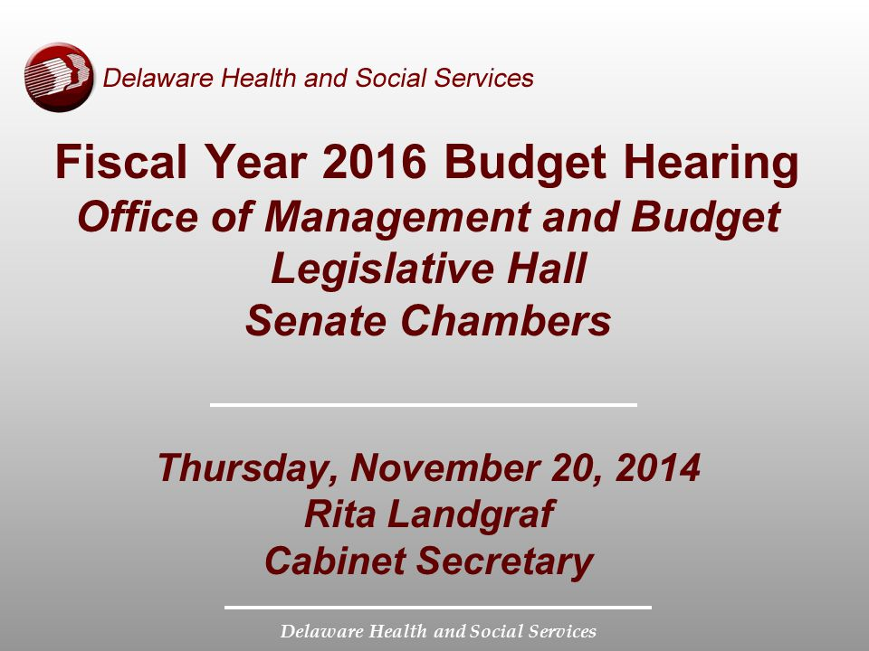 Fiscal Year 2016 Budget Hearing Office of Management and Budget