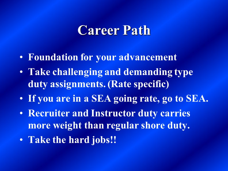Career Path Foundation for your advancement