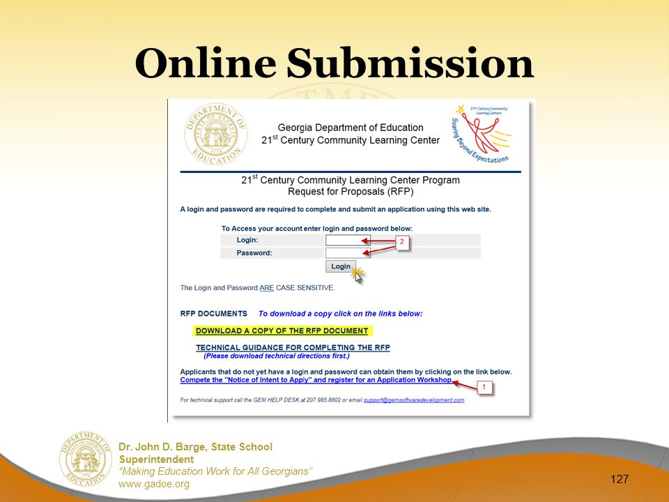 Online Submission