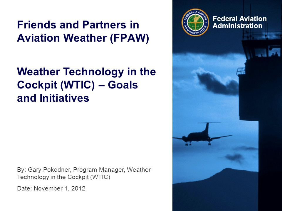 Friends and Partners in Aviation Weather (FPAW)