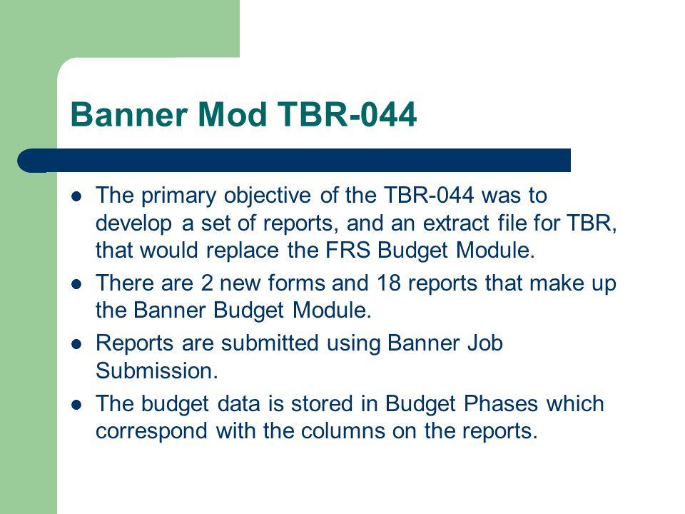Banner Mod TBR-044