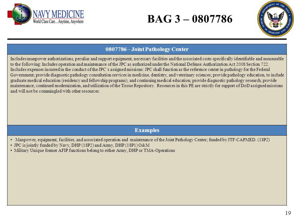 0807786 – Joint Pathology Center