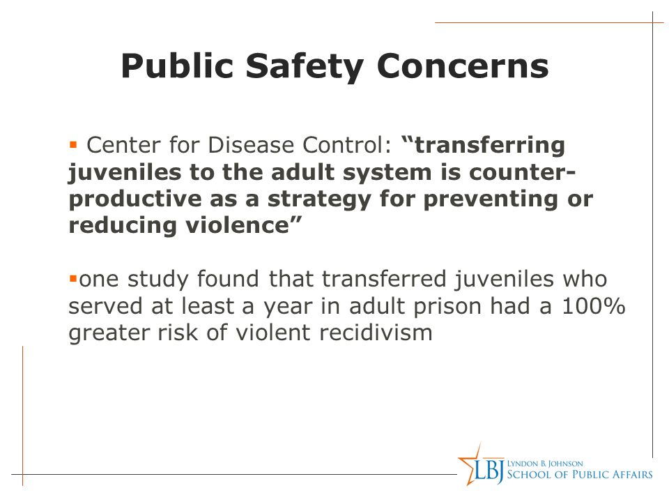 Public Safety Concerns