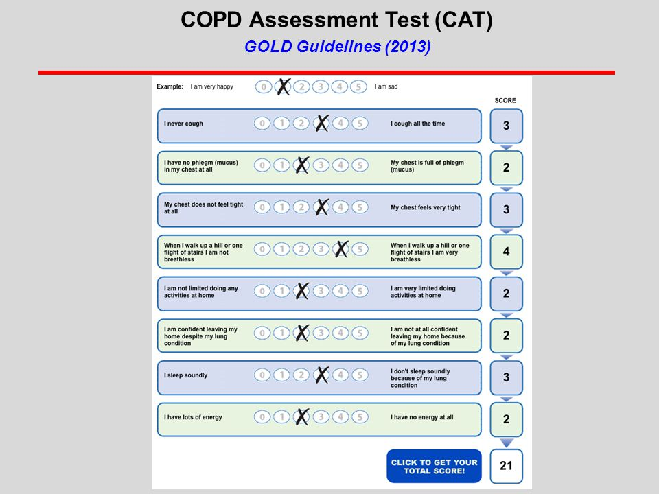 COPD Assessment Test (CAT)